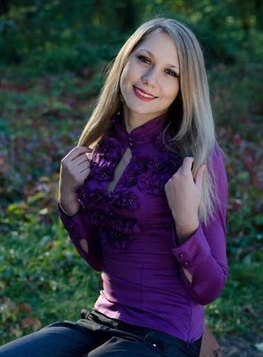 russian beautiful girl Natalia